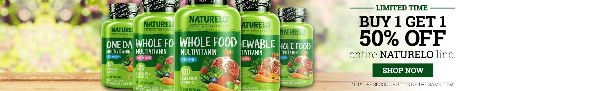 Naturelo - Vitamins and supplements