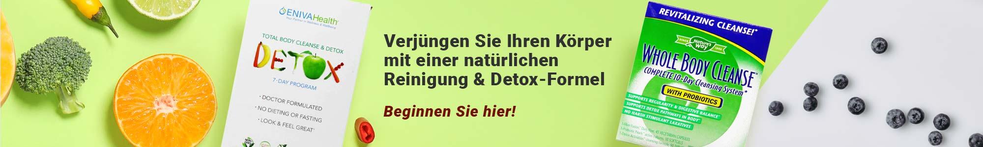 Verjüngen Sie Ihren Körper mit einer natürlichen Reinigung & Detox-Formel. Beginnen Sie hier!