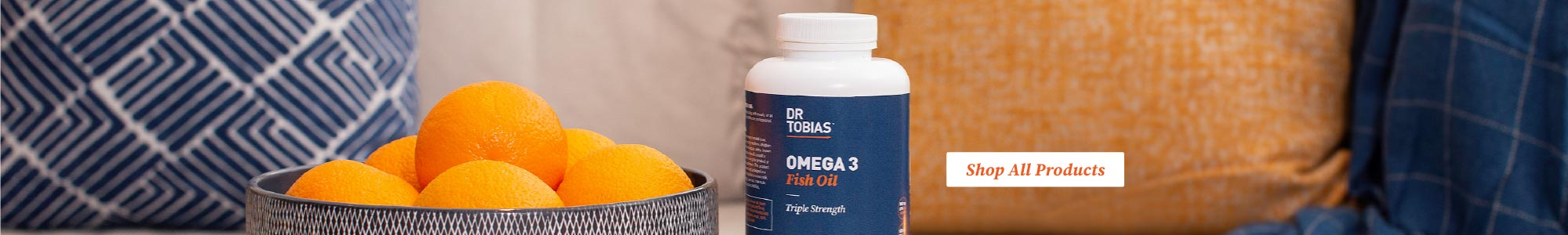 Omega 3 Fish oil by Dr Tobias.  Shop all items online at eVitamins.