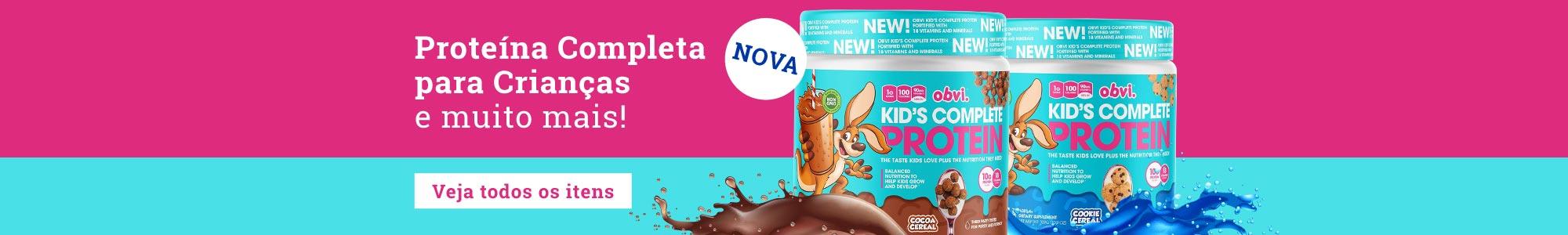 Obvi - Nova - Proteína Completa para Crianças e muito mais! Veja todos os itens